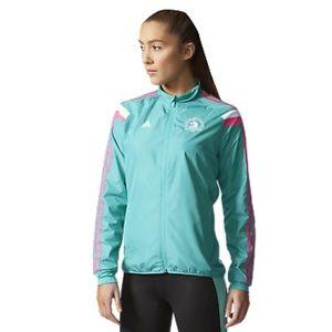 NEW Women's Adidas Boston Marathon 2016 Jacket